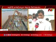 NTV: Polavaram : Godavari Flood Water Released Through spillway (Video)