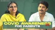 COVID 19 Awareness For Parents   ft. Dr Sivaranjani Santosh , Nani   Wall Poster Cinema [HD] (Video)