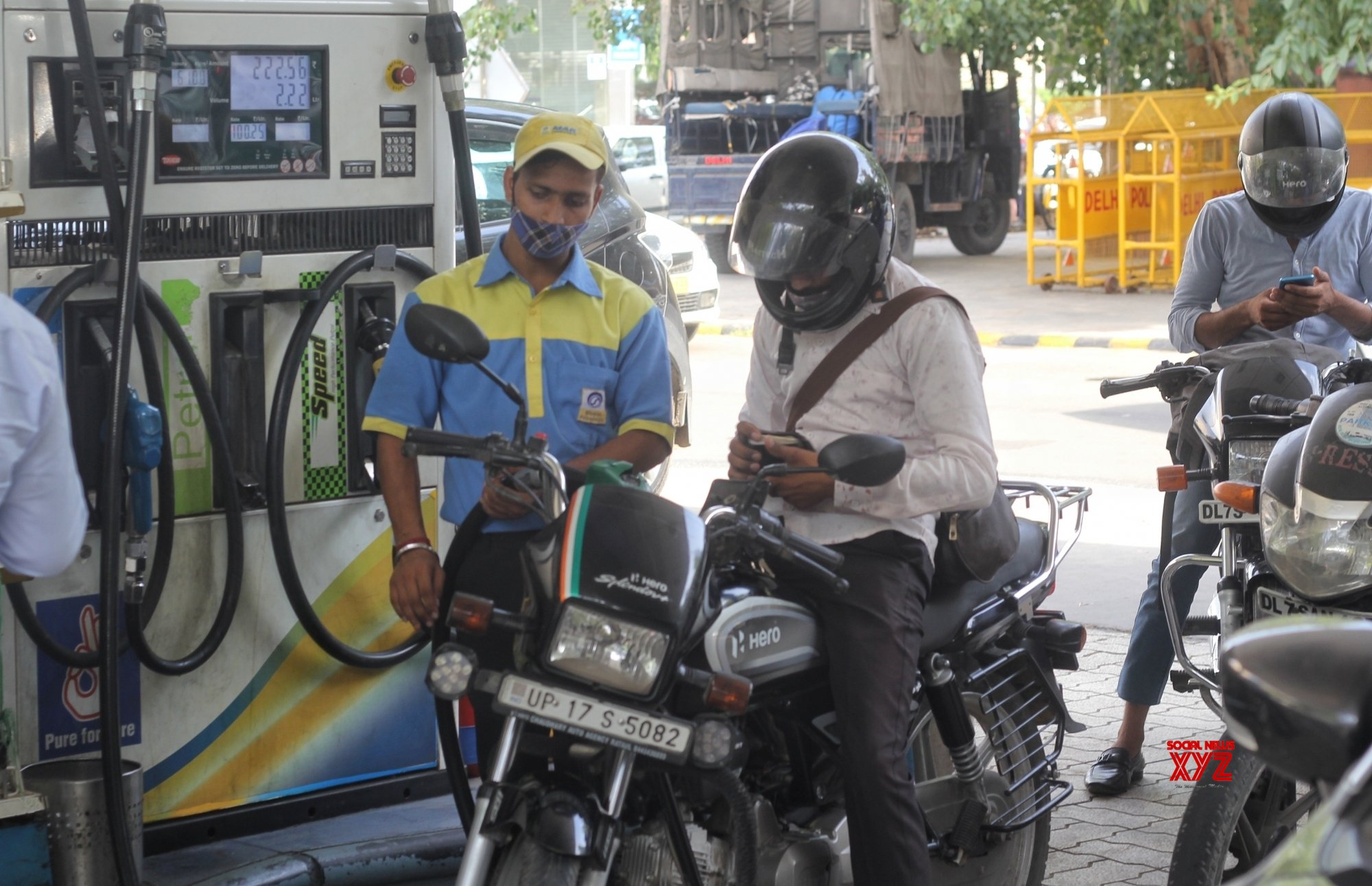 Petrol, diesel prices static for 10 consecutive days
