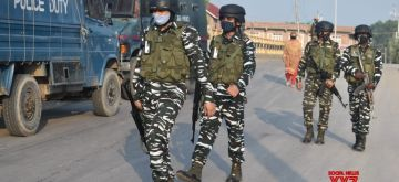 Srinagar: Two terrorists have been killed in an ongoing encounter between terrorists and security forces at Alamdar colony, Danmar area in Srinagar, on Friday, July 16, 2021. (Photo: IANS)