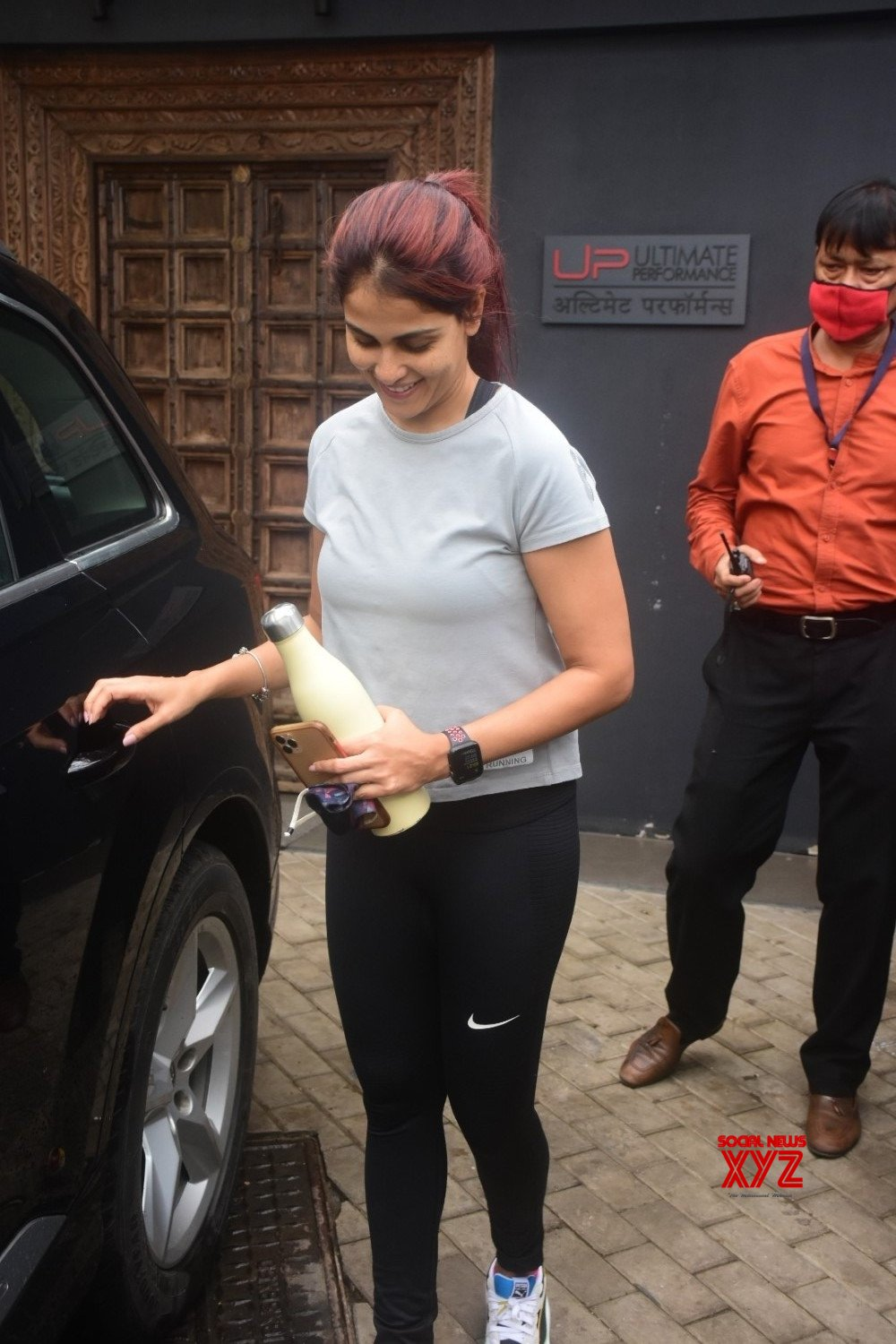 Actress Genelia D Souza Spotted At Gym In Bandra - Gallery