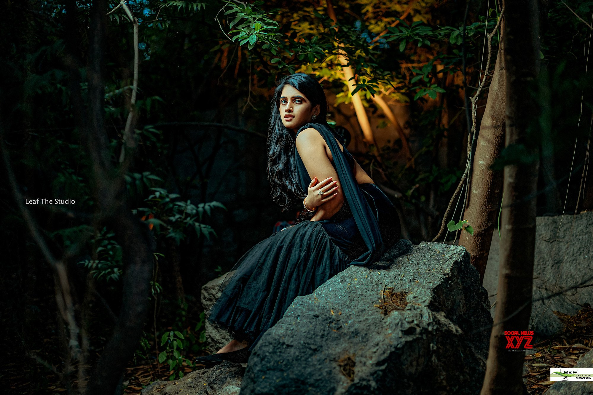 Anchor Sravanthi Glam Stills As Lost Princess From Latest Photoshoot