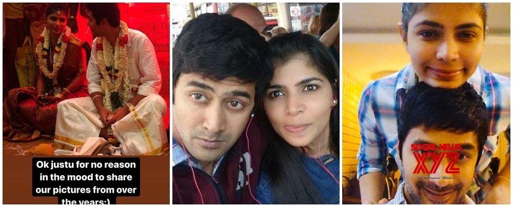 Rahul Ravindran posts pics for wife Chinmayi Sripada 'just for no reason'