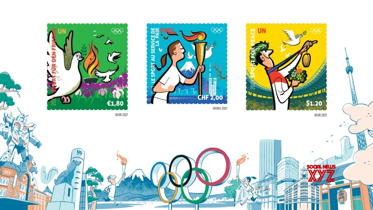 UN, IOC release stamps to commemorate Tokyo Olympics