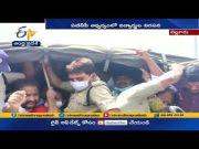 ABVP Leaders Arrested   Demanding New Job Calender @ Nellore  (Video)