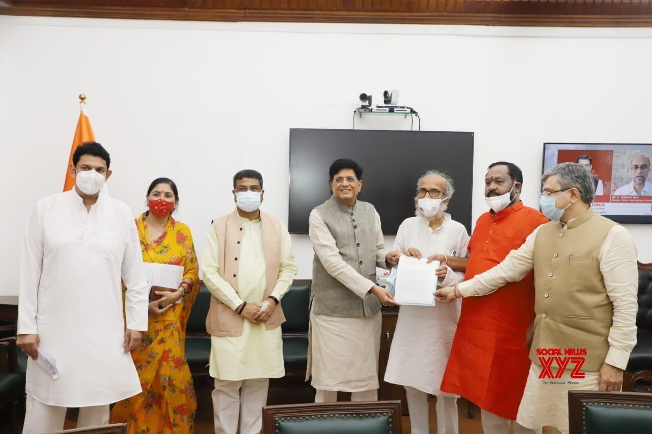 BJP MPs from Odisha meet Piyush Goyal over PMGKAY 'irregularity'