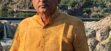 Former minister, Atmaram Tomar.(photo:Atmaram Tomar Facebook)