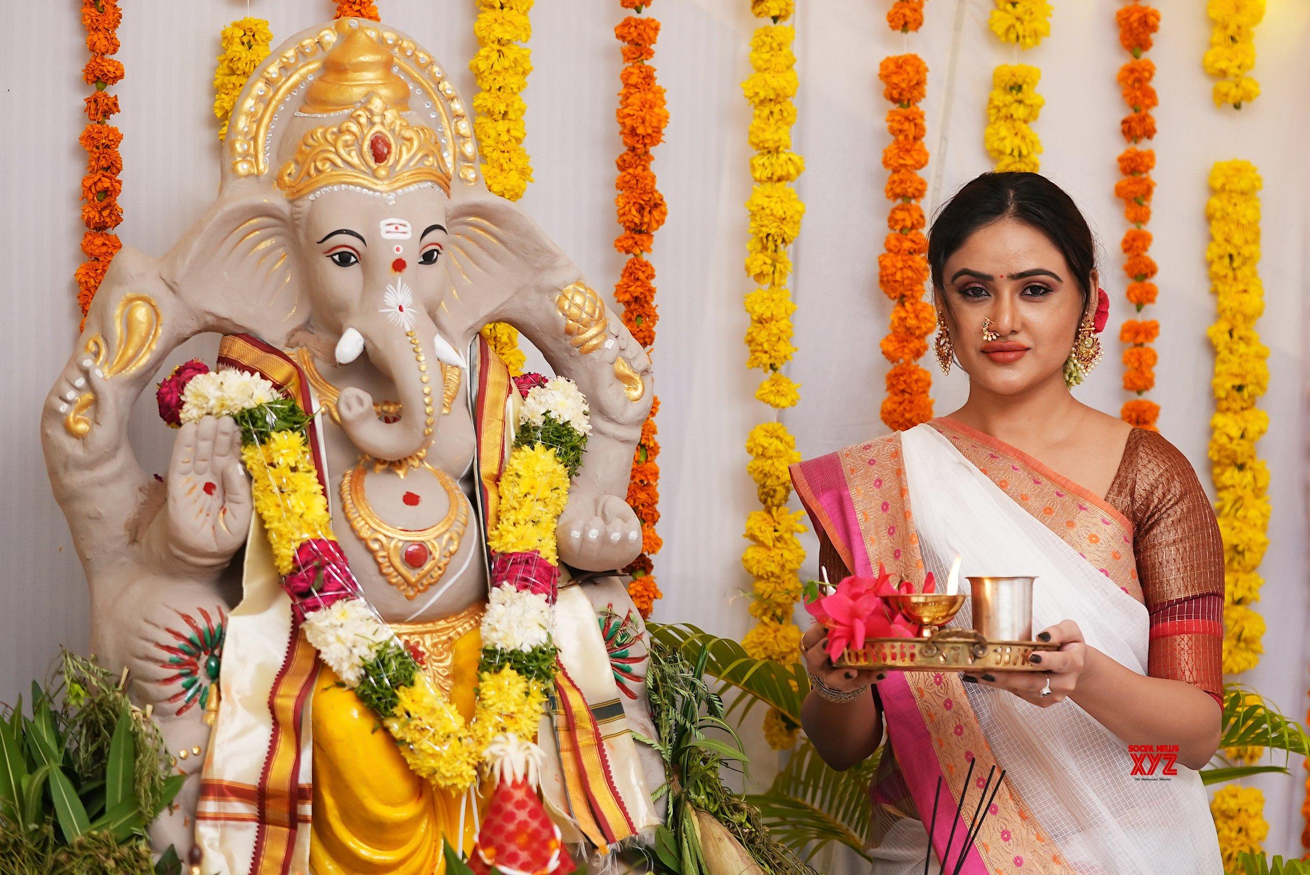 Actress Sony Charishta Vinayaka Chavithi Special Photoshoot HD Stills
