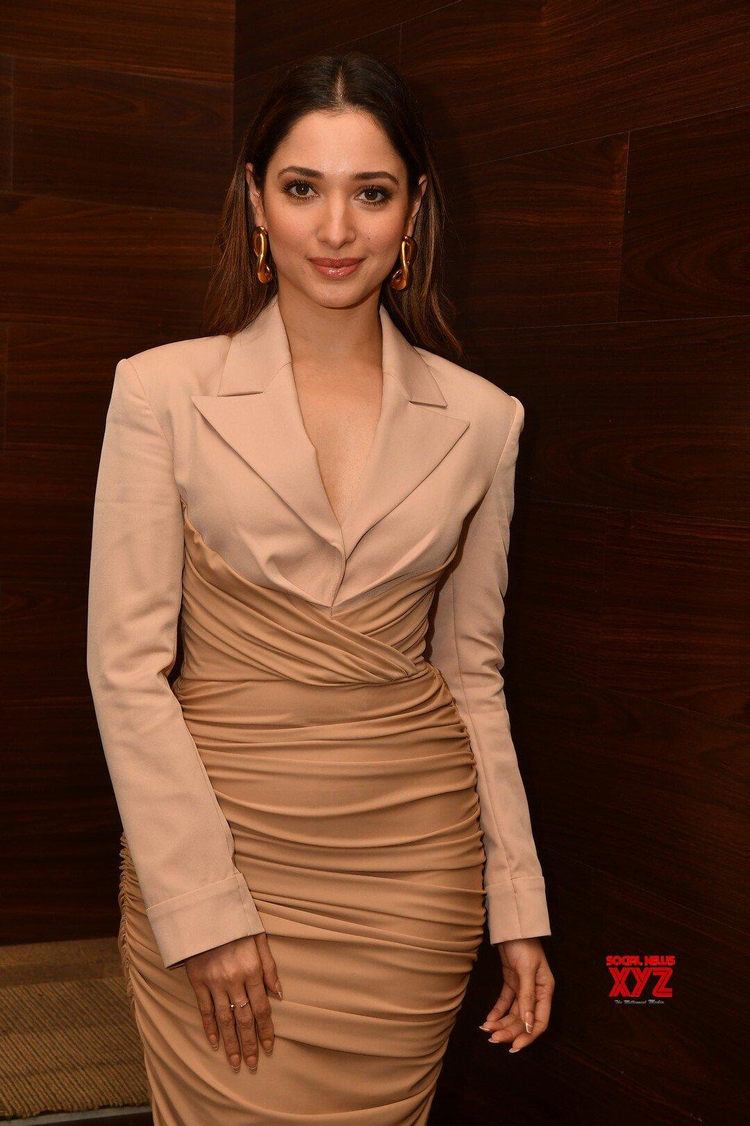 Actress Tamanna Bhatia Glam Stills From Maestro Movie Pre Release Event