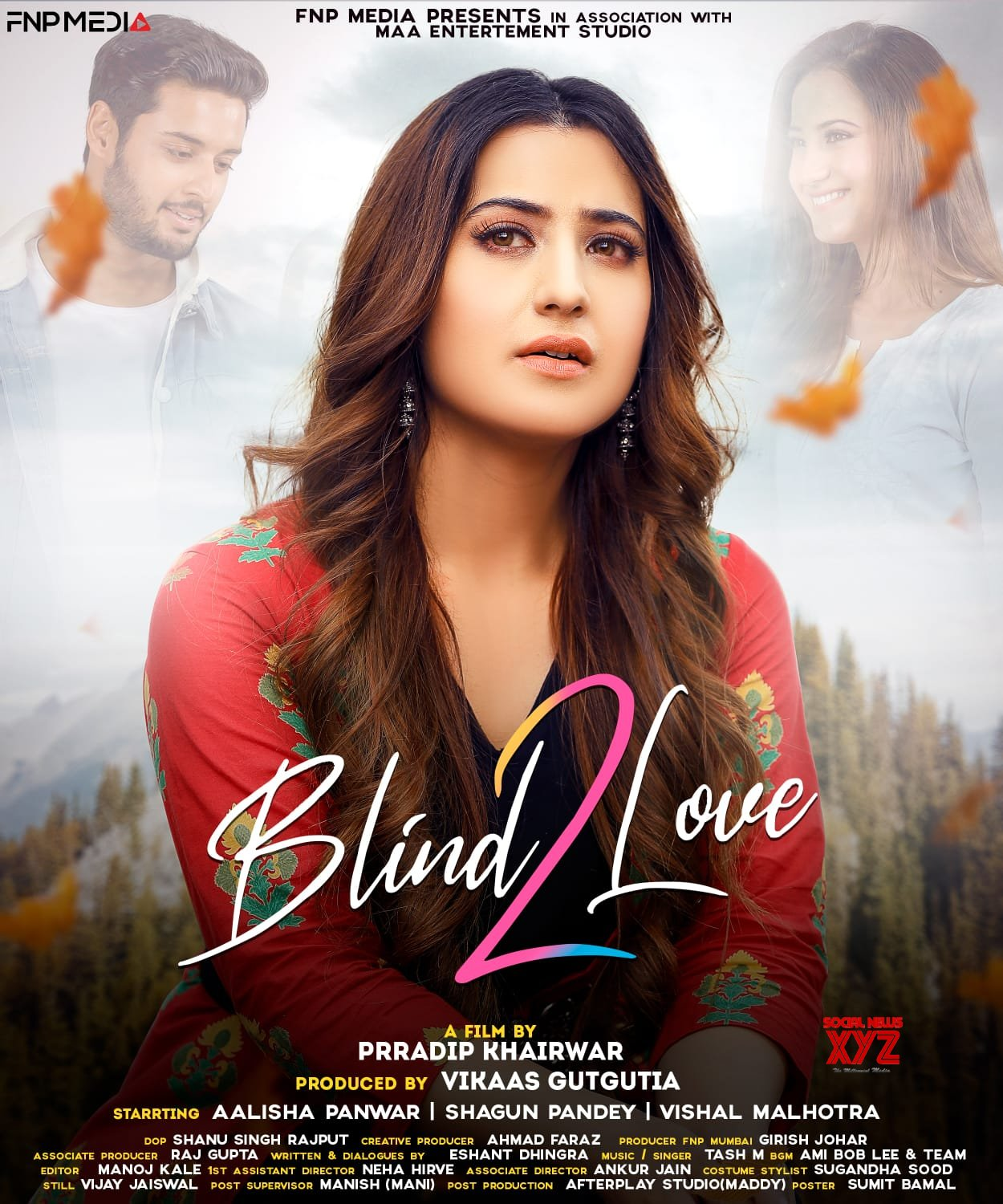 Blind Love 2 brings Shagun Pandey and Aalisha Panwar together in this love story: Trailer Out