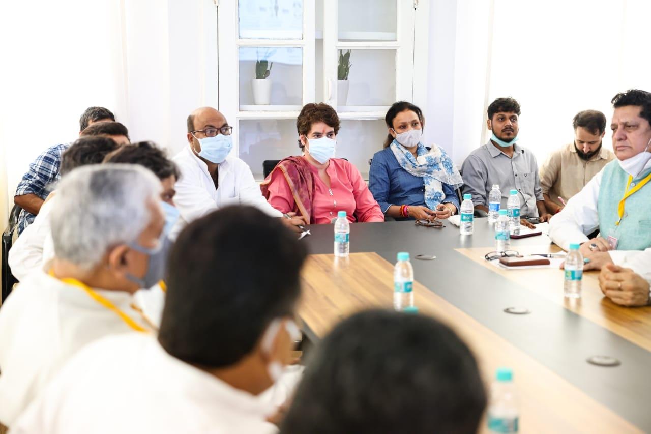 UP Congress veterans question Priyanka's leadership