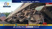 Goods Train Derails Near Angul Bridge at Odisha |    - 6   (Video)