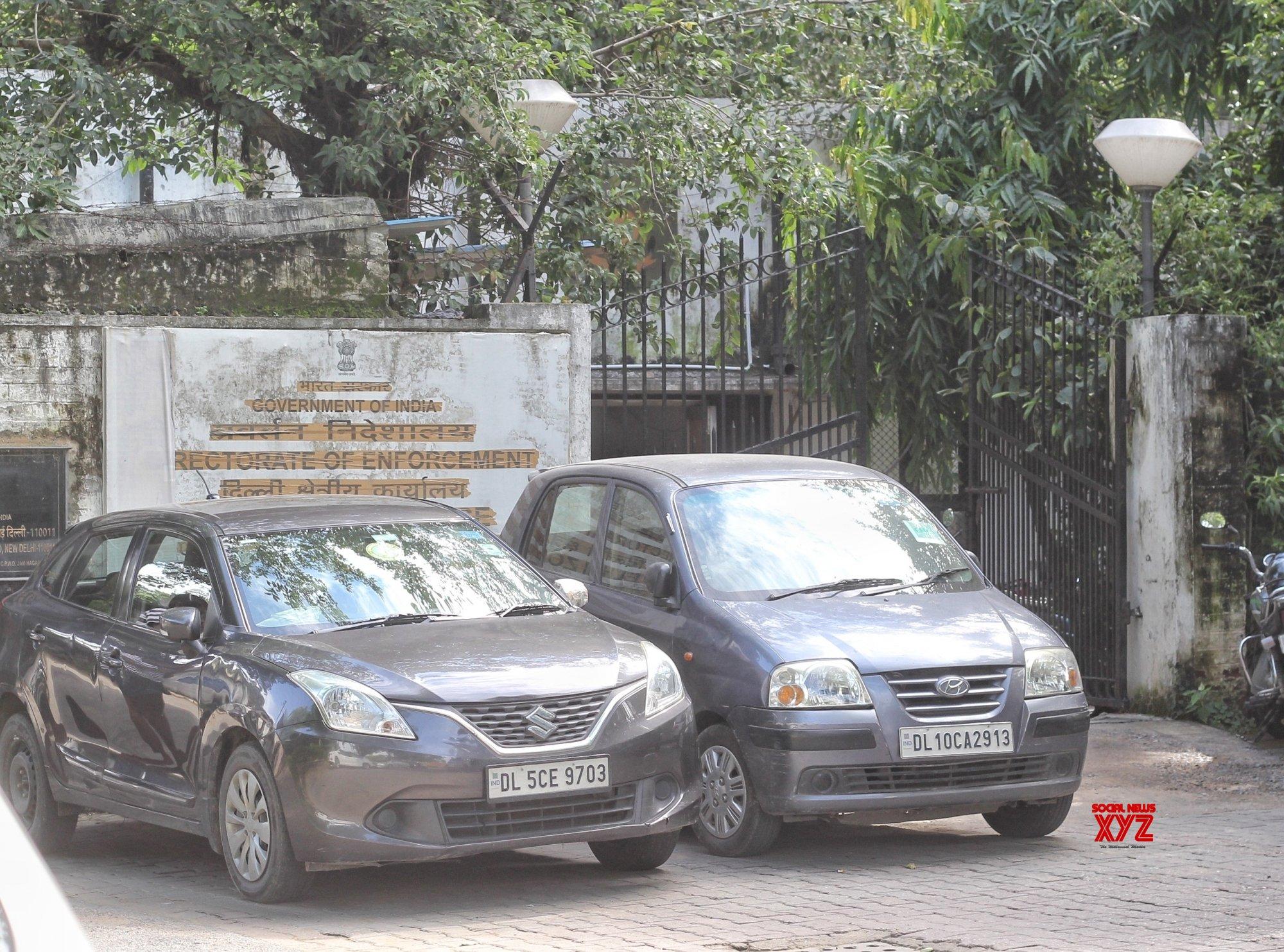 : ED office at Jam Nagar house in new Delhi on Wednesday September 15, 2021 #Gallery