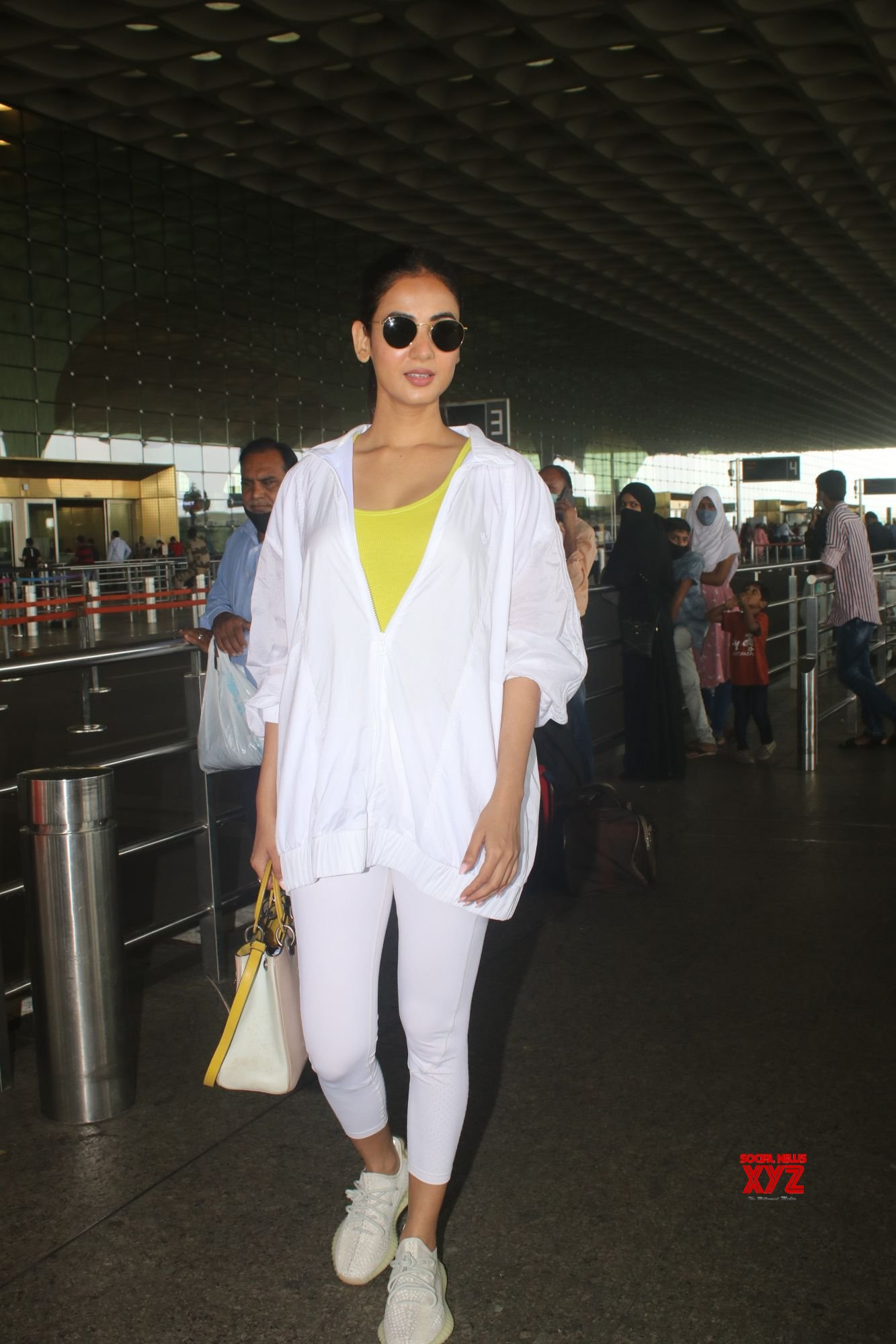 Actress Sonal Chauhan Spotted At Airport Departure - Gallery