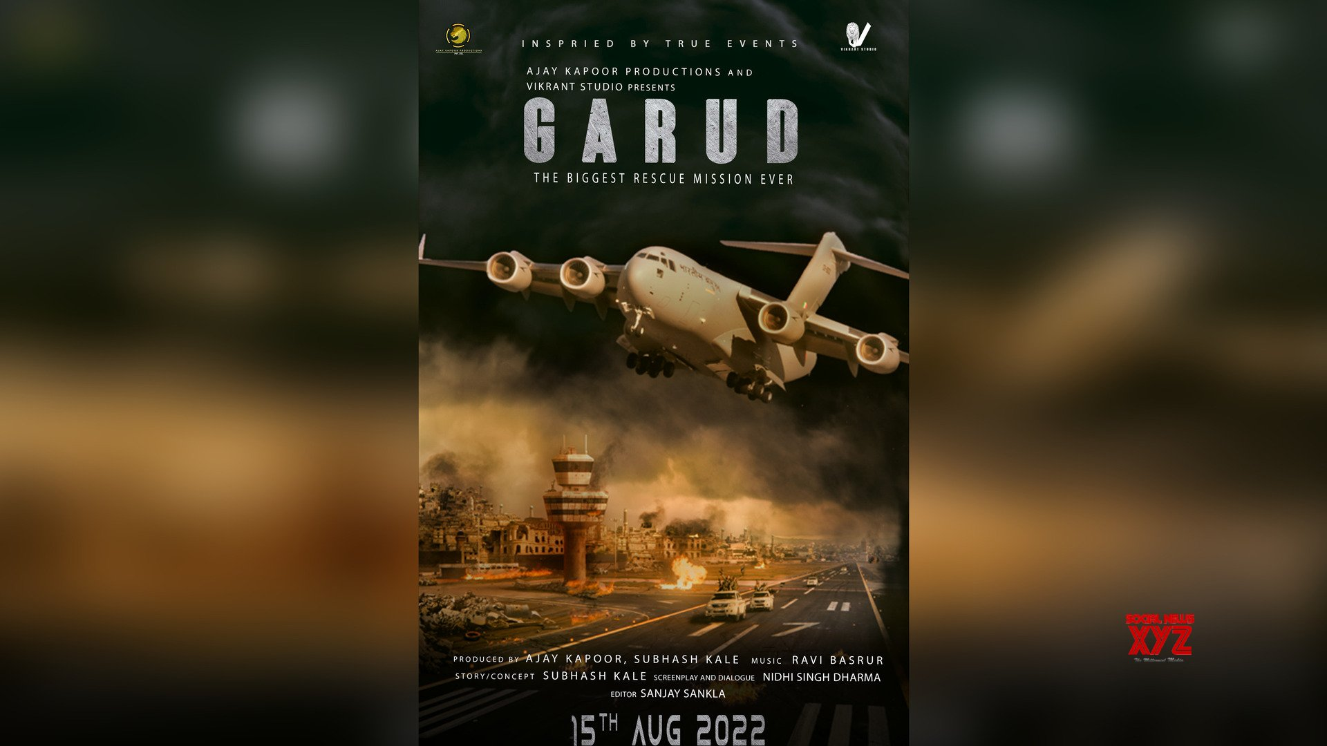 Ajay Kapoor and Subhash Kale announce 'Garud' based on Afghanistan rescue crisis