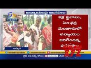 ,      Woman Serious on Govt Allotment of Schemes  (Video)