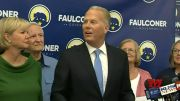 Kevin Faulconer speaks to supporters after Newsom recall effort failed (Video)