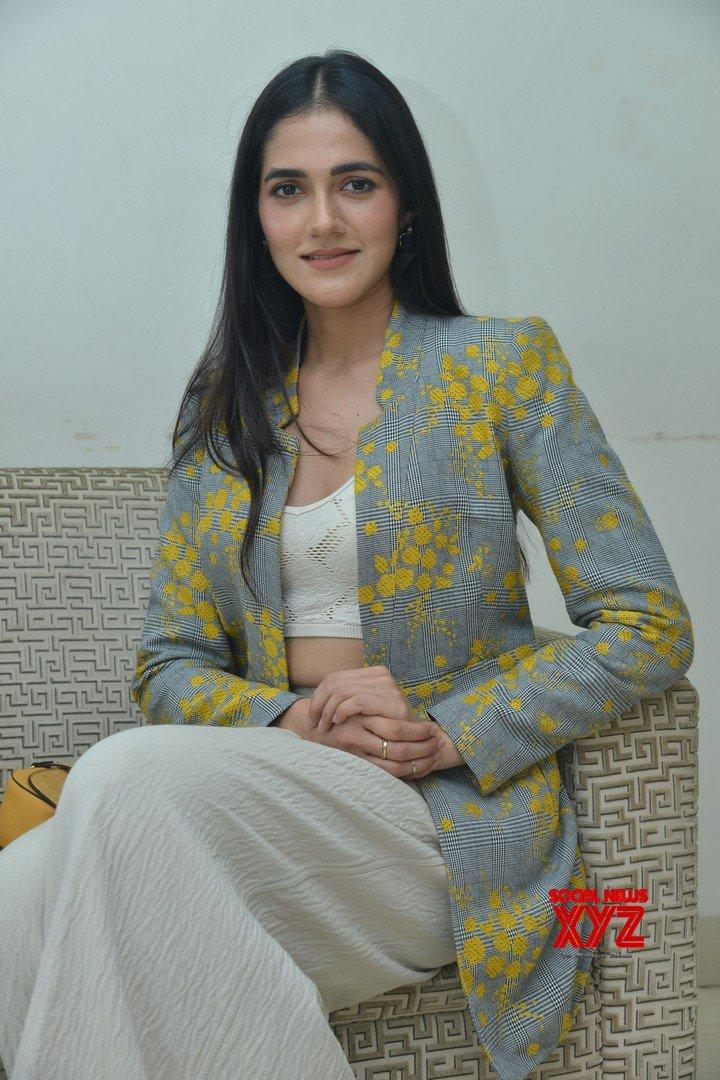 Actress Simran Choudary Stills From Neetho Movie Teaser Launch