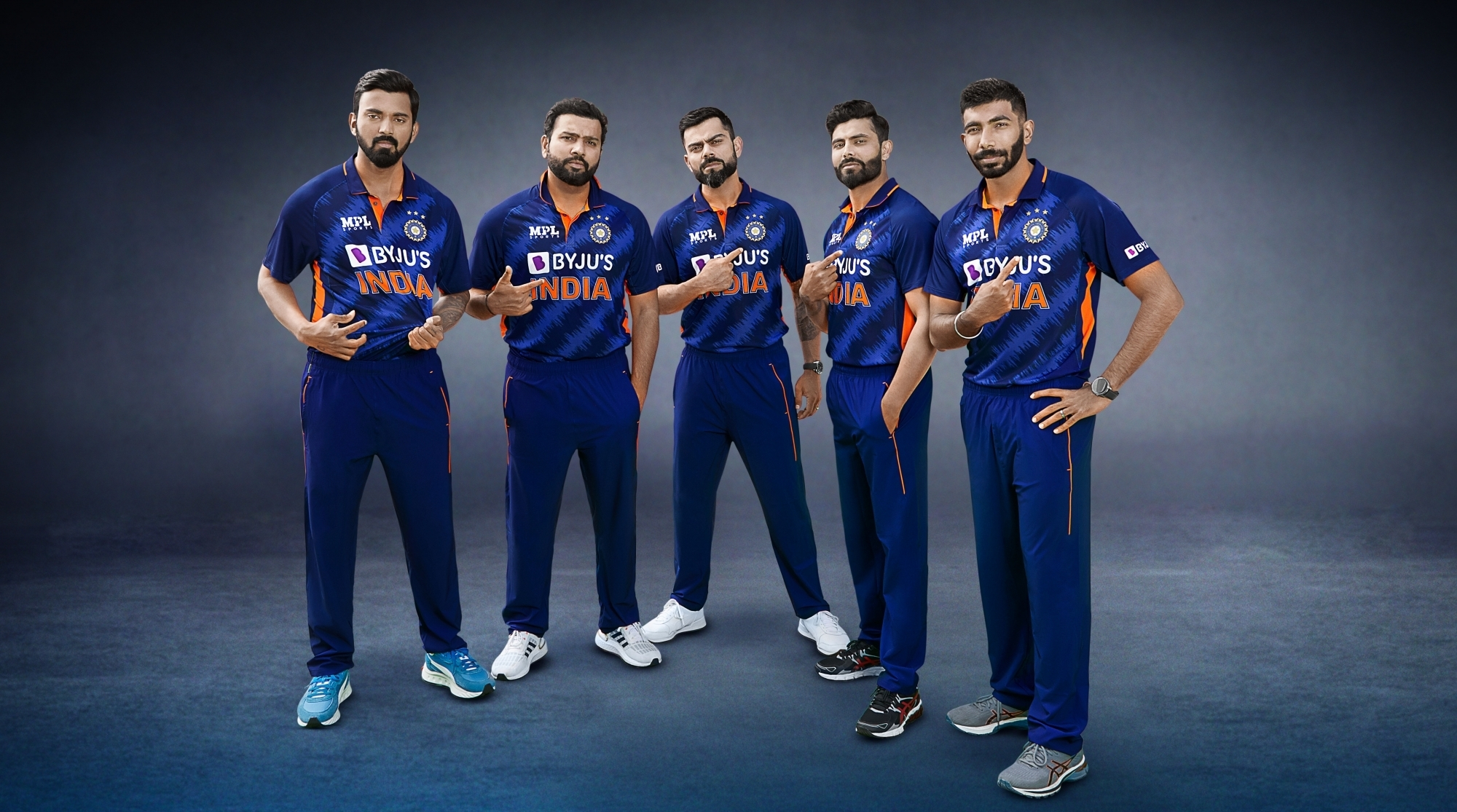 Fan-inspired Indian team jersey unveiled ahead of T20 World Cup