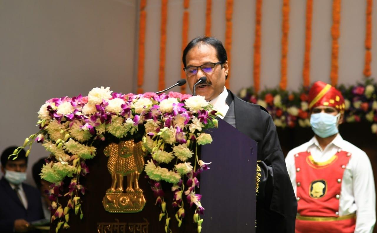 Prashant Mishra sowrn-in as Chief Justice of Andhra Pradesh HC