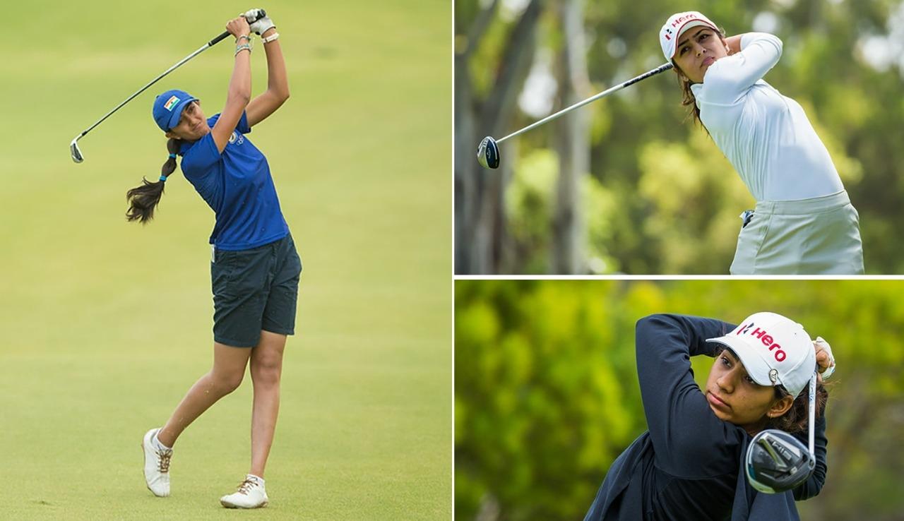 Golfers Aditi, Tvesa and Diksha to play in New York leg of Aramco Series