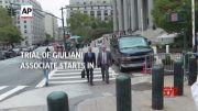 Trial of Giuliani associate Parnas starts in NYC (Video)