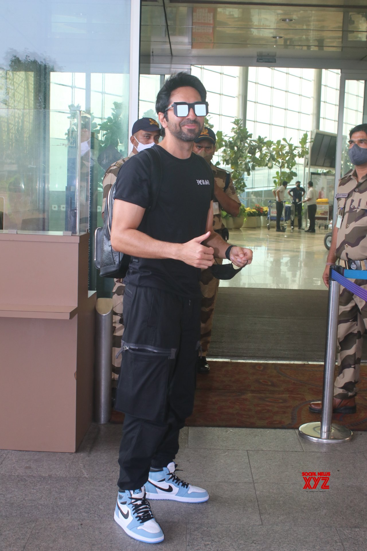 Ayushmann Khurrana Spotted At Airport Departure - Gallery