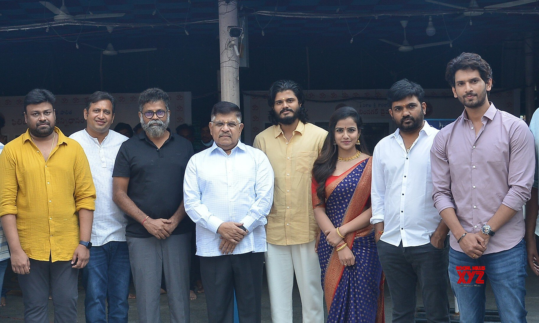 """Tollywood bigwigs Allu Aravind, Sukumar, and Maruthi launched a New Age Love Story """"Baby"""""""