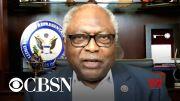 Congressman James Clyburn discusses Democrats' standoff over Biden's agenda (Video)