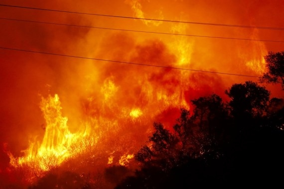 California's Alisal Fire grows, prompts evacuations