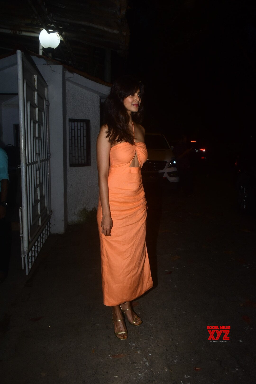 Actress Malavika Mohanan Attended The Private Screening Of Vicky Kaushal's Upcoming Film Sardar Udham In Mumbai - Gallery
