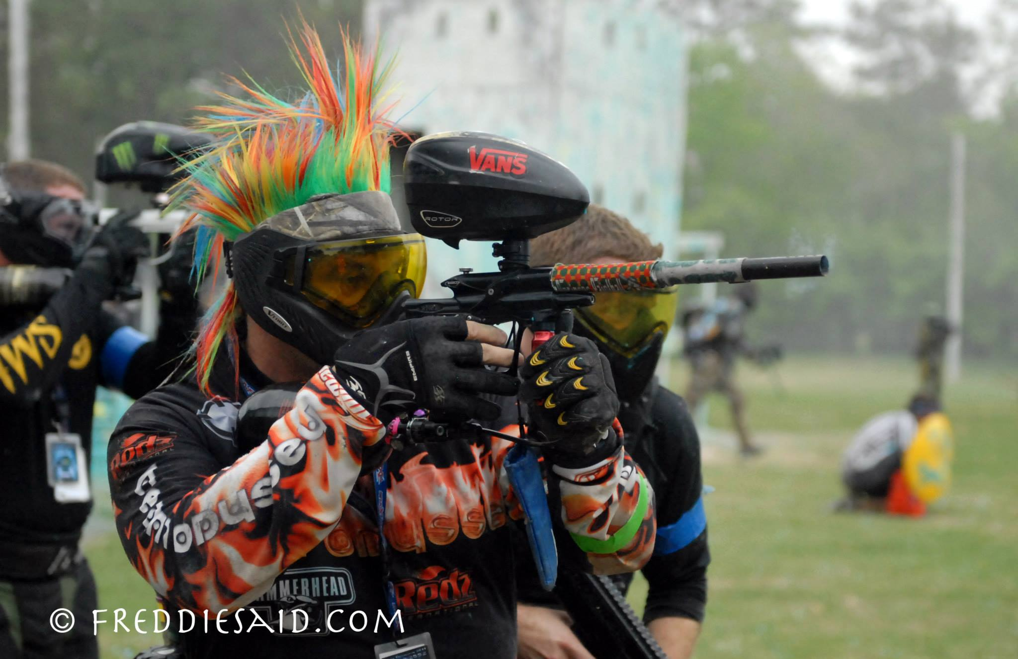 Different Paintball Games