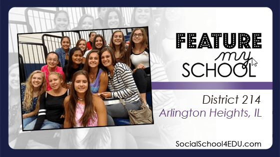 First Day of School Twitter Campaign - #214FirstDay - #SocialSchool4EDU
