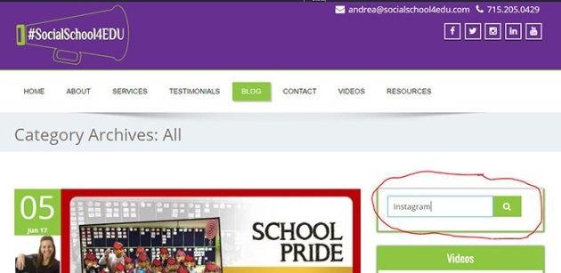 #SocialSchool4EDU Blog Search
