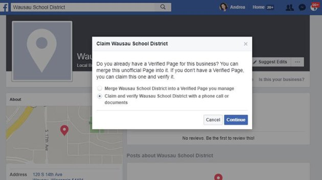 What Can I Do About Unofficial School Facebook Pages?