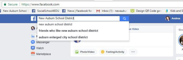 Never Miss a Facebook Post from Your School