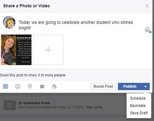 Student Spotlights - Creating this Weekly Feature is EASY!