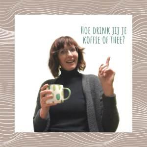 Werkoverleg met koffie of thee