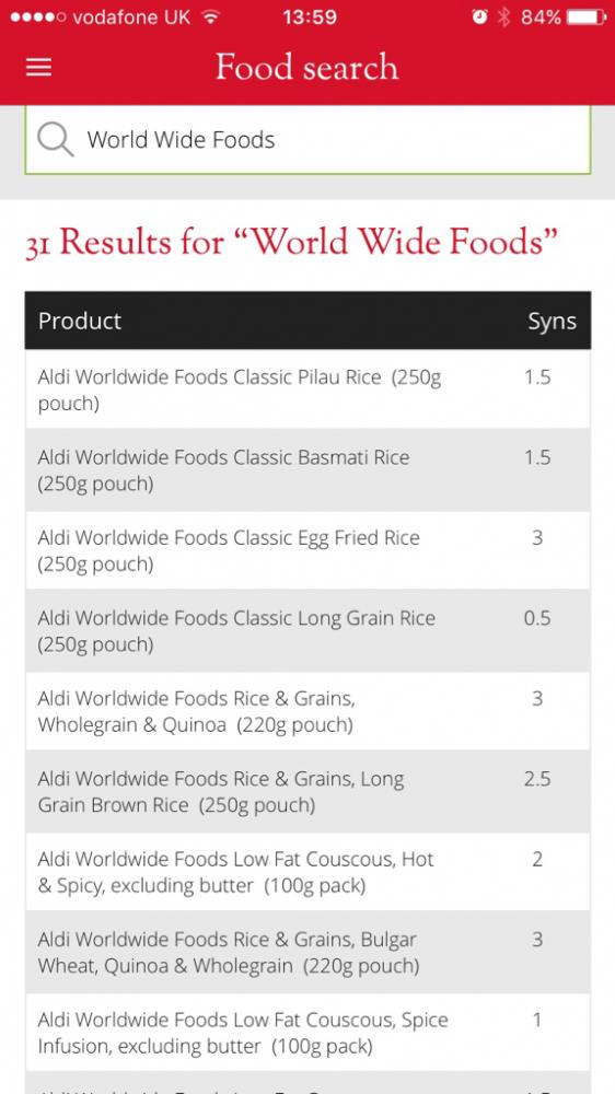 aldi microwaveable rice world wide