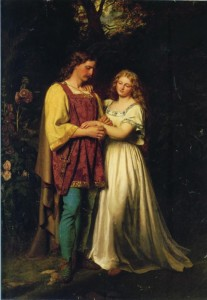 Cymbeline - Posthumus and Imogen