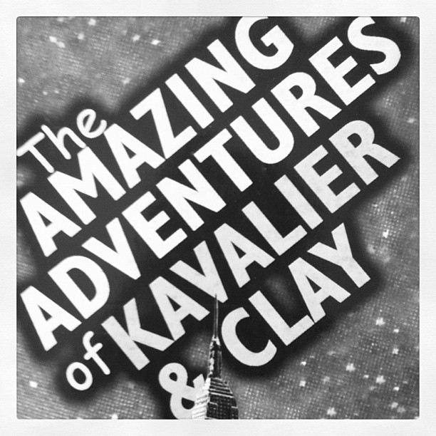THE AMAZING ADVENTURES OF KAVALIER amp CLAY MICHAEL CHABON