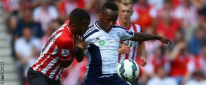 Berahino not given a glimpse of goal