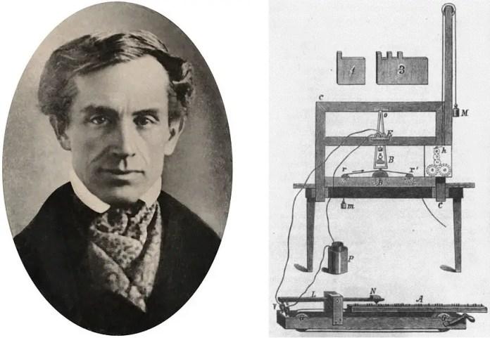 Resultado de imagen para Fotos de Samuel Morse