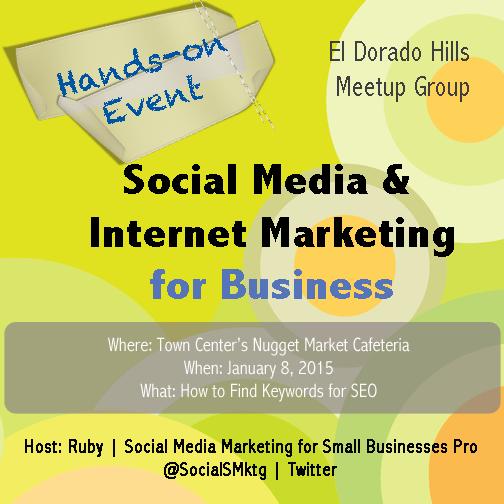 El Dorado Hills Social Media Meetup