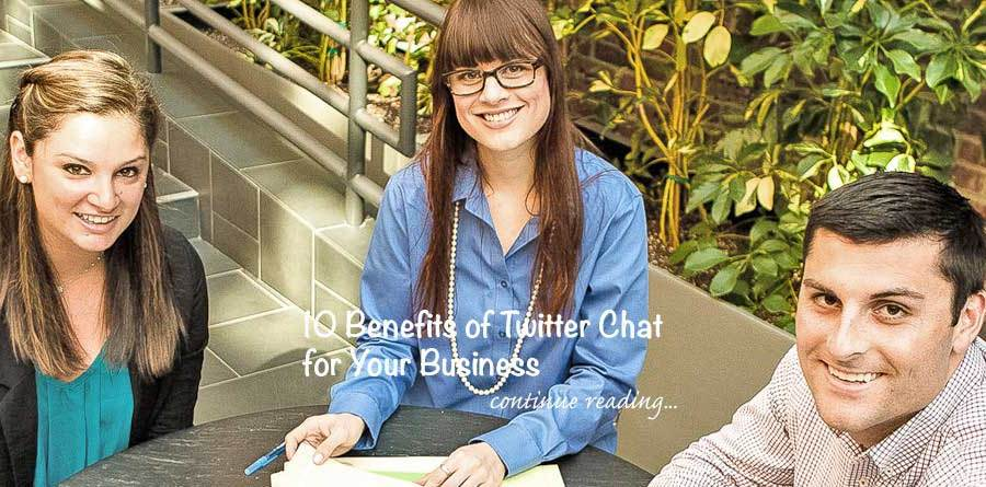 Twitter Chats Benefits