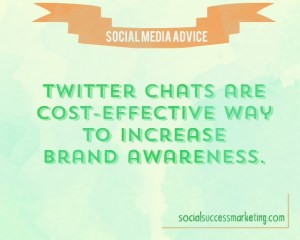 Advanced Twitter Chat Tip