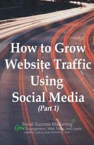 increase traffic using social media tips