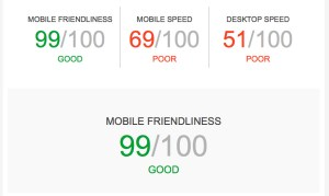 Website Speed Report Card