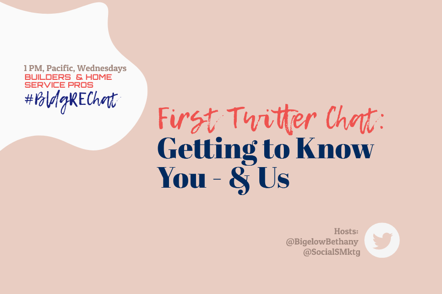 Home Building Pros Twitter Chat