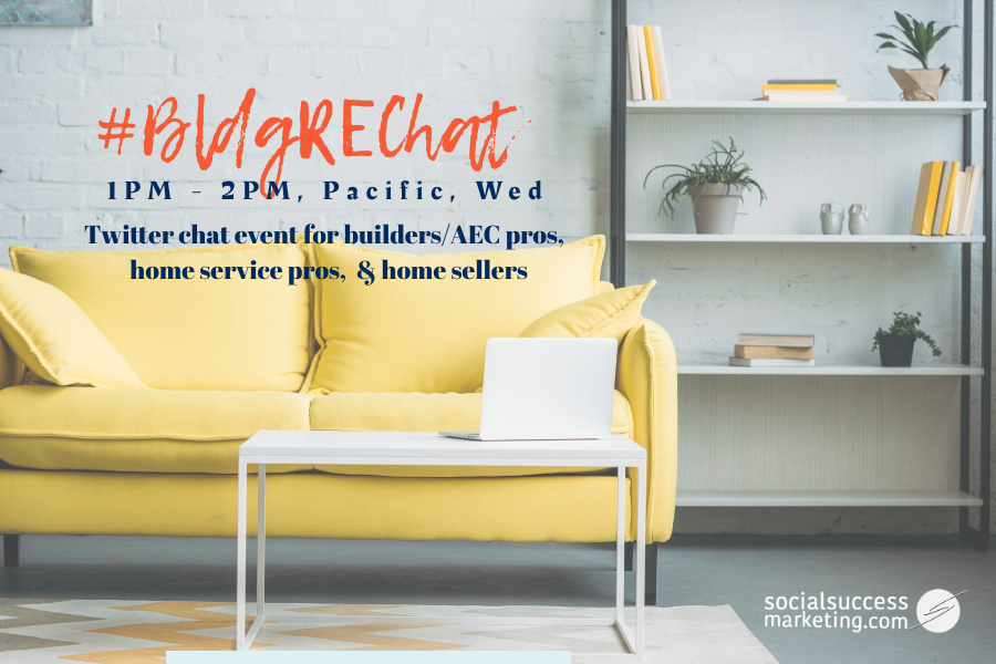 Twitter chat builders and home sellers